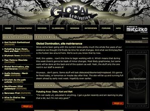 Global Domination, website