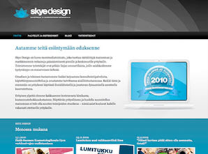 Skye Design, website